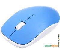 Мышь Omega OM-420 (белый/синий)