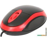 Мышь Omega OM-06 (черный/красный)