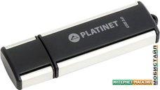 USB Flash Platinet X-Depo USB 3.0 64GB (черный/серебристый)