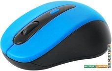 Мышь Omega OM-416 (черный/синий)