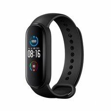 Фитнес-браслет Xiaomi Mi Smart Band 5 (черный, международная версия)