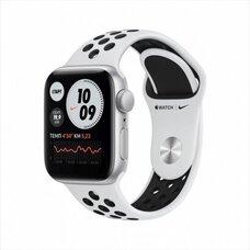 Умные часы Apple Watch SE Nike 44 мм (алюминий серебристый/чистая платина)