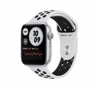 Умные часы Apple Watch Nike Series 6 40 мм (алюминий серебристый/чистая платина)
