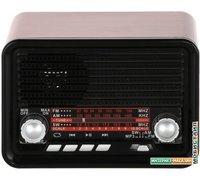 Радиоприемник Ritmix RPR-030 (черный/бордовый)
