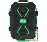 Портативное зарядное устройство Ritmix RPB-10407LST/LT (черный/зеленый)