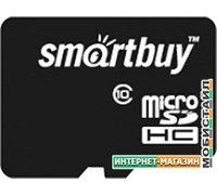 Карта памяти Smart Buy microSDHC (Class 10) 8GB (SB8GBSDCL10-00)