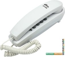 Проводной телефон Ritmix RT-005 (белый)