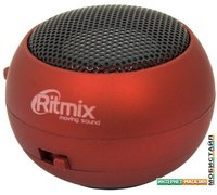 Портативная колонка Ritmix SP-050 (красный)