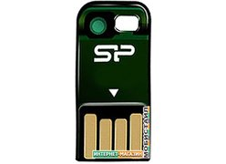 USB Flash Silicon-Power Touch T02 32Gb Green (SP032GBUF2T02V1N)