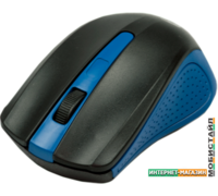 Мышь Ritmix RMW-555 (черный/синий)
