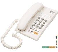 Проводной телефон Ritmix RT-330 (белый)