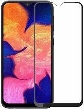 Защитное стекло Samsung  Galaxy A10 Black (ПОЛНАЯ ПРОКЛЕЙКА)