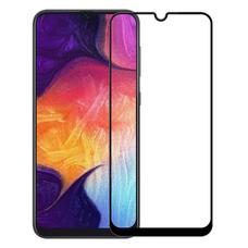 Защитное стекло Samsung  Galaxy A20 Black (ПОЛНАЯ ПРОКЛЕЙКА)