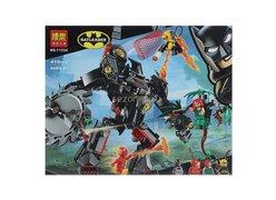 Конструктор BELA 11234 Super Heroes ʺРобот Бэтмена против робота Ядовитого Плющаʺ 419 дет. 35х28х6см