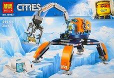 Конструктор BELA 10993 Сити Арктика ʺАрктический вездеходʺ 211 дет.
