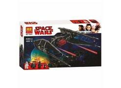 Конструктор BELA 10907 Star Wars ʺИстребитель СИД Кайло Ренаʺ 648 дет.