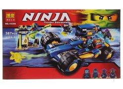 Конструктор BELA 10396 Ninjago ʺШагоход Джеяʺ 387 дет. в коробке 36.7х22х5см