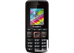 Мобильный телефон TeXet TM-203 (черный-красный)