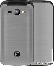 Мобильный телефон TeXet TM-204 (серый)