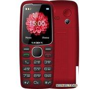 Мобильный телефон TeXet ТМ-B307 (красный)