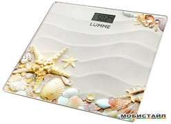 Напольные весы Lumme LU-1328 Морской пляж