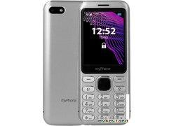 Мобильный телефон MyPhone Maestro (серебристый)