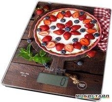 Кухонные весы Home Element HE-SC932 (ягодный пирог)