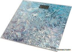 Напольные весы Lumme LU-1329 (морозный узор)