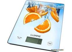 Кухонные весы Lumme LU-1340 (апельсиновый фреш)