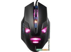 Игровая мышь CrownMicro CMG-04 Cyborg (черный/синий)