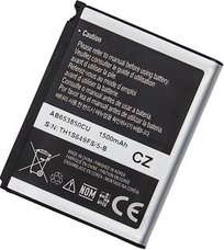 Аккумулятор для телефона Samsung i7500, i8000, i900, i9023 Nexus S (AB653850C)