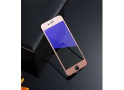 3D защитное стекло Remax Anti Blue-Ray для iPhone 7 Plus (цвет обода: розовое золото)