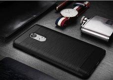 Бампер JZZS Brush TPU для XIAOMI Redmi Note 4X Черный