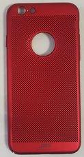 Бампер JZZS Breathable для APPLE iPhone 6/6S Красный