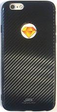 Бампер JZZS Carbon TPU для APPLE iPhone 6/6S Черный