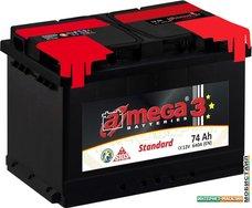 Автомобильный аккумулятор A-mega Standard 74 R (74 А·ч)