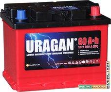 Автомобильный аккумулятор Uragan R (60 А·ч)