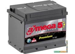 Автомобильный аккумулятор A-mega Premium 6СТ-75-А3 R low (75 А/ч)