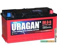 Автомобильный аккумулятор Uragan R (90 А·ч)