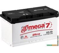 Автомобильный аккумулятор A-mega Ultra 105 R (105 А·ч)