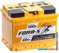Автомобильный аккумулятор Fora-S 6СТ-60L(0) (60 А·ч)