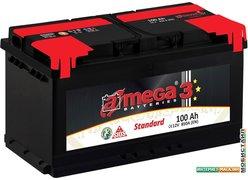 Автомобильный аккумулятор A-mega Standard 100 R (100 А·ч)
