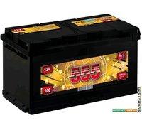 Автомобильный аккумулятор 555 6СТ-100-А3 R (100 А/ч)