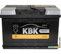 Автомобильный аккумулятор KBK 60 R (60 А·ч) [110655]