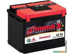Автомобильный аккумулятор A-mega Standard 60 R (60 А·ч)