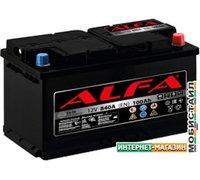 Автомобильный аккумулятор ALFA Hybrid 100 R (100 А·ч)