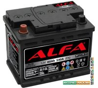 Автомобильный аккумулятор ALFA Hybrid 110 R (110 А·ч)