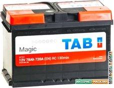 Автомобильный аккумулятор TAB Magic (78 А·ч)