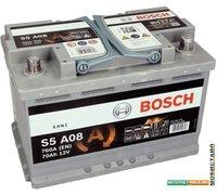 Автомобильный аккумулятор Bosch S5 A08 (570901076) 70 А/ч