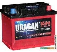 Автомобильный аккумулятор Uragan R (55 А·ч)
